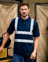 Two Band & Brace Hi-Vis Polo Shirt